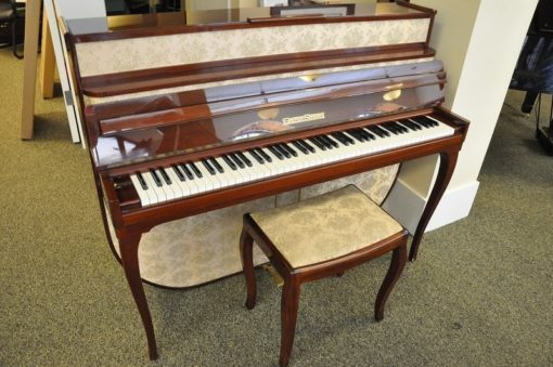 Grotrian Steinweg Art Case Studio Piano