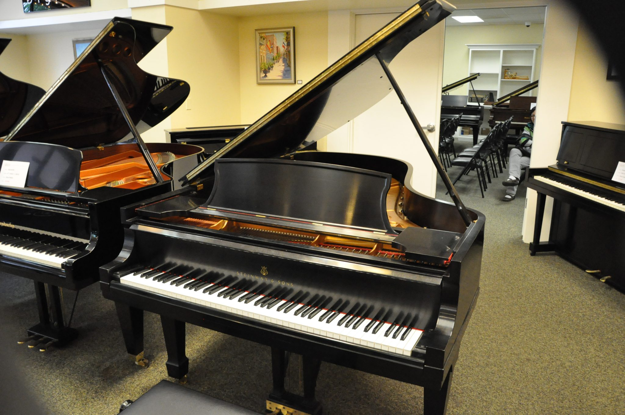 steinway and sons strategic orientation View eric feidner's profile well as education and ensure a competitive and relevant orientation in the general the steinway & sons record label is another.